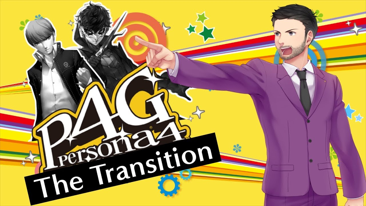 Persona 4 Golden: The Transition From Persona 5 – FalseProof