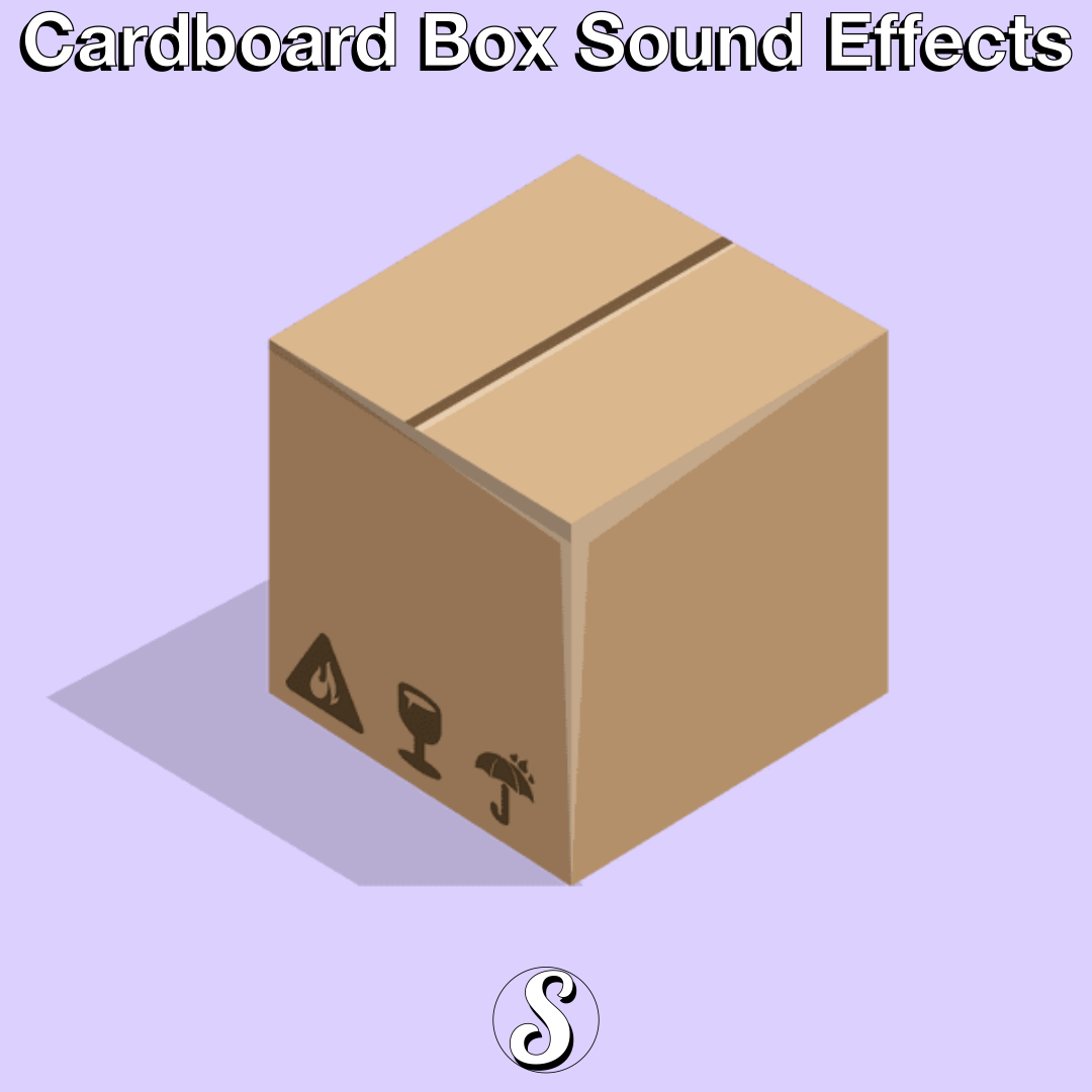 Free Sound Effects – Cardboard Box Sounds [24bit/48kHz]